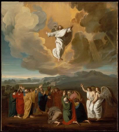 The Ascension of Christ (1775) by John Singleton Copley