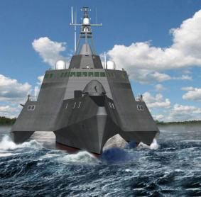 USS Independence LCS-2 Graphic Rendering