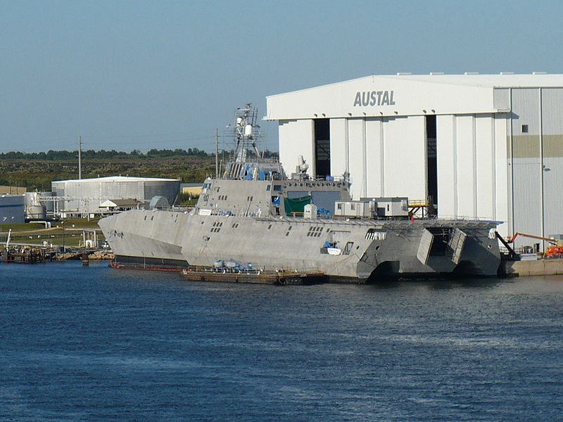USS Independence LCS-2 Rear View