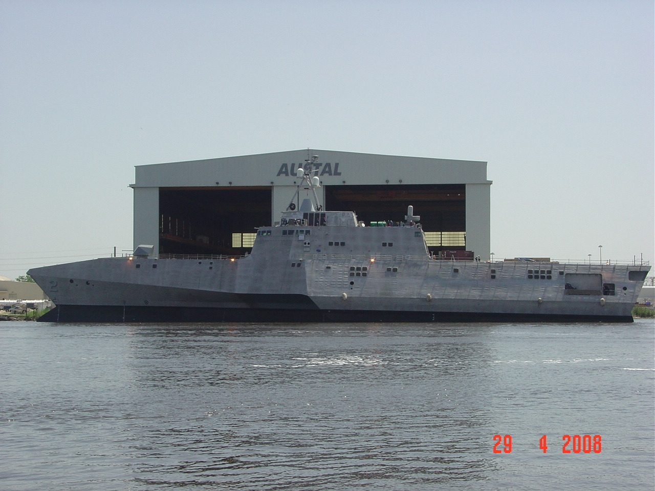 USS Independence LCS-2 Side View