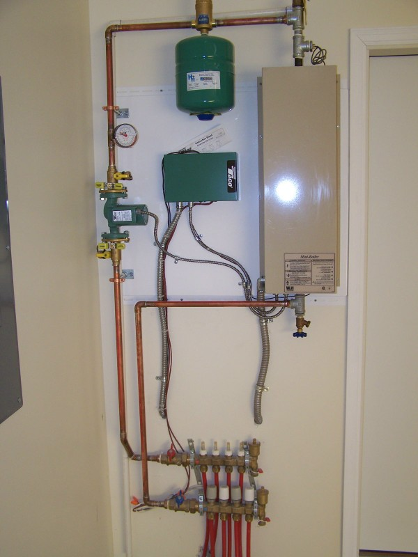 boiler u0026 controls for infloor hydronic heat system