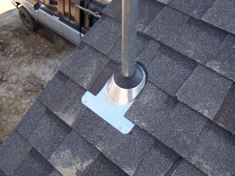 Zotz Electrical Overhead Service Conduit Flashing